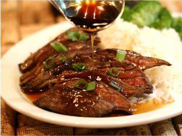 Beef Or Chicken Teriyaki