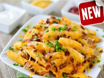 Fries Cheese Melted