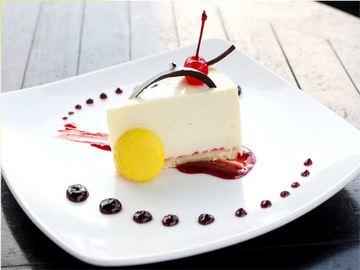 Double Cream Cheese Cake